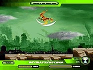 Ben 10 alien force the city fall down ben 10 játékok